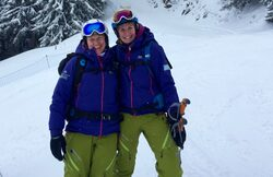 Dee and Shona, BASS Chamonix